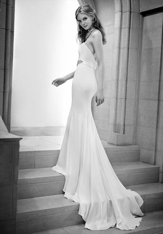 Martina Liana 698 Sheath Wedding Dress