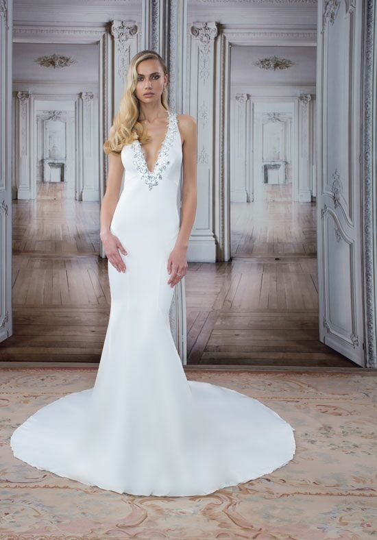 LOVE by Pnina Tornai for Kleinfeld 14495 Sheath Wedding Dress