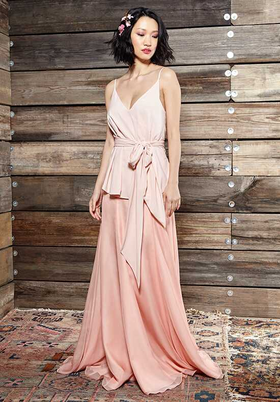 Ivy & Aster Bridesmaids Lena Top V-Neck Bridesmaid Dress