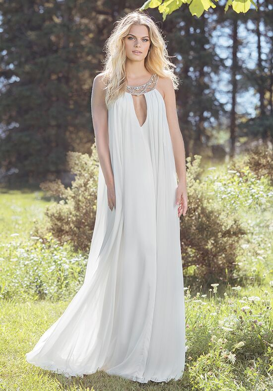 Lillian West 6500 A-Line Wedding Dress