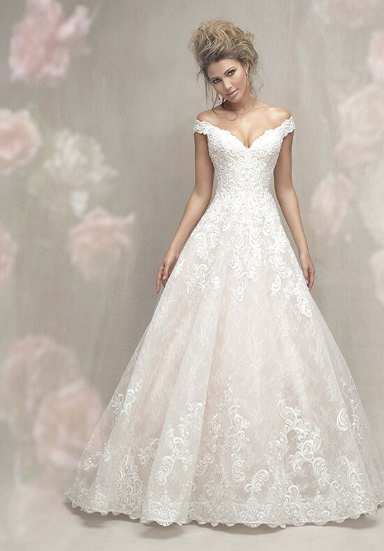 Allure Couture C461 Ball Gown Wedding Dress