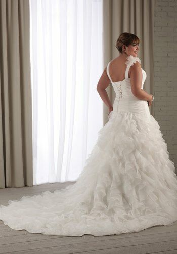Unforgettable by Bonny Bridal 1207 A-Line Wedding Dress