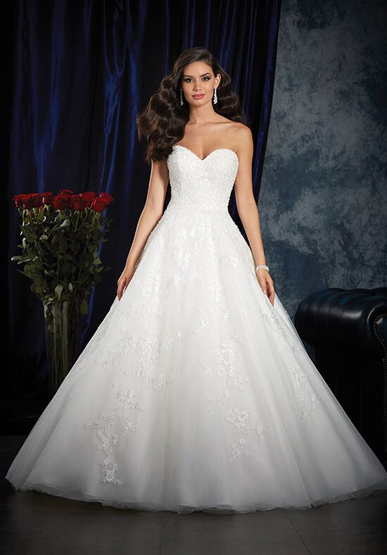 Alfred Angelo Sapphire Bridal Collection 994 Ball Gown Wedding Dress