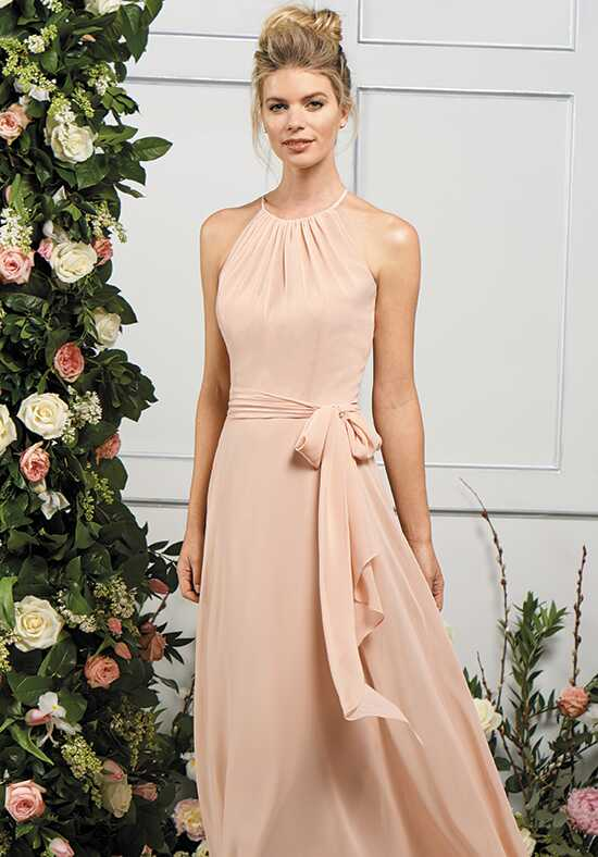 B2 by Jasmine B193061 Halter Bridesmaid Dress