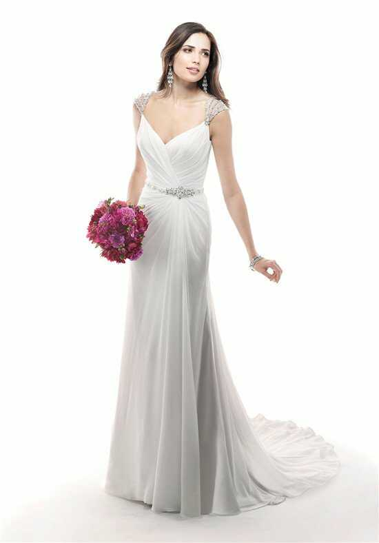 Maggie Sottero Bryce Sheath Wedding Dress