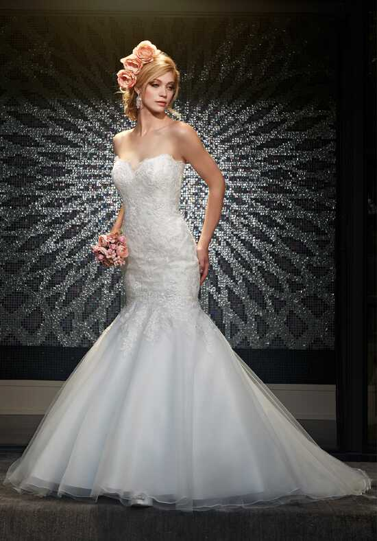 1 Wedding by Mary's Bridal 6443 Mermaid Wedding Dress