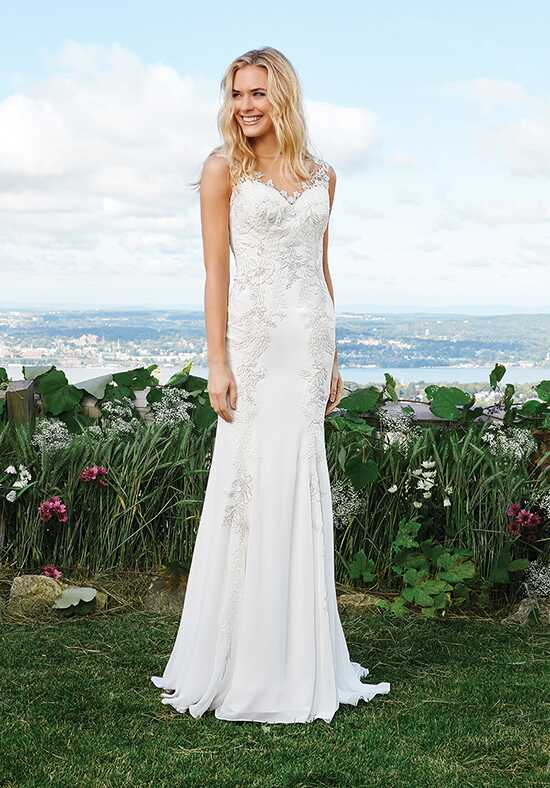 Lillian West 6423 Mermaid Wedding Dress