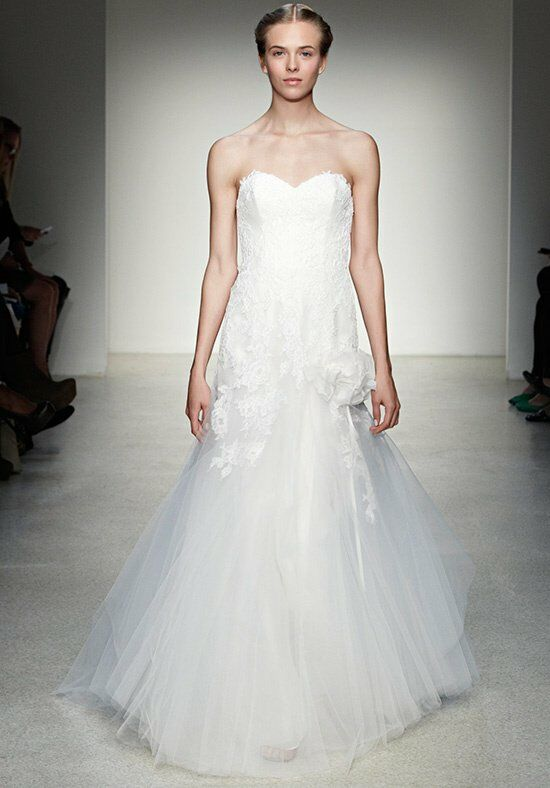 Christos Althea Mermaid Wedding Dress