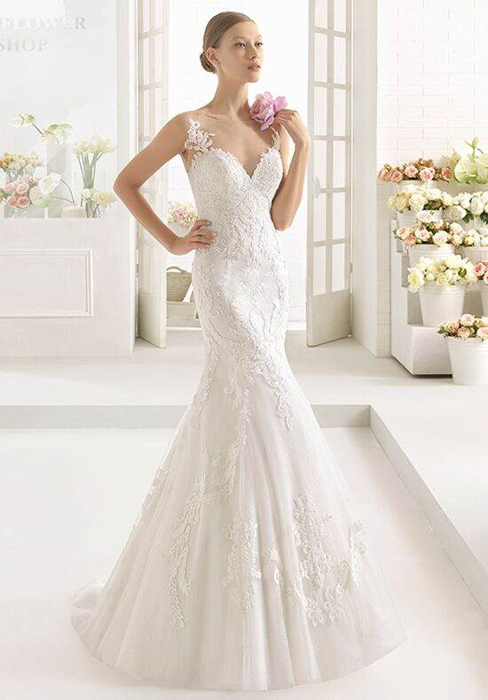 Aire Barcelona Cairel Mermaid Wedding Dress