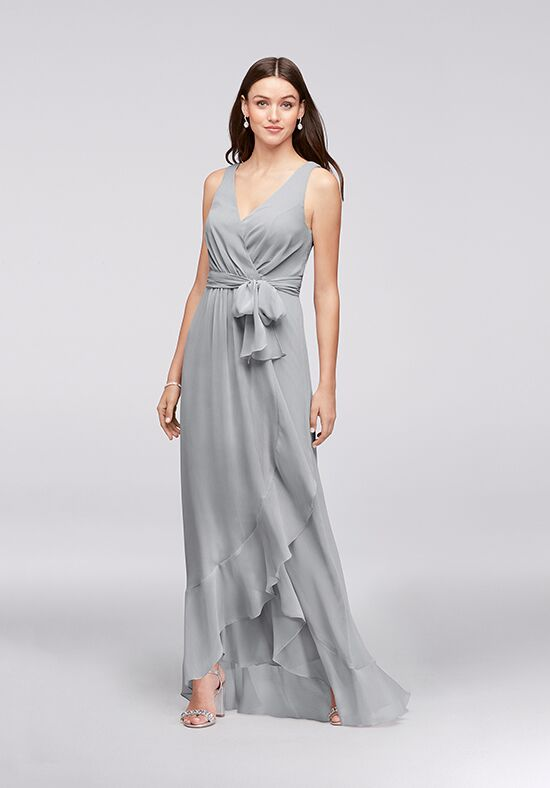 David's Bridal Collection David's Bridal Style F19748 V-Neck Bridesmaid Dress