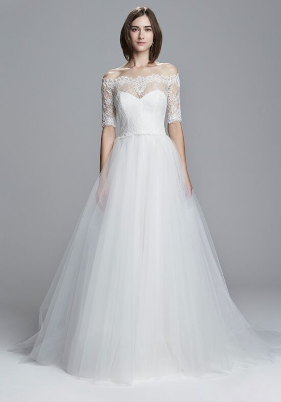 Christos Brinna Ball Gown Wedding Dress