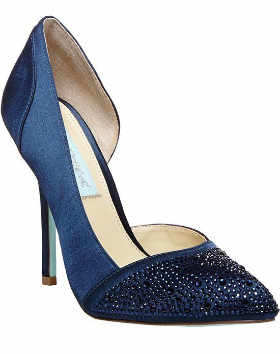 Blue By Betsey Johnson Sb Band Midnight Shoe