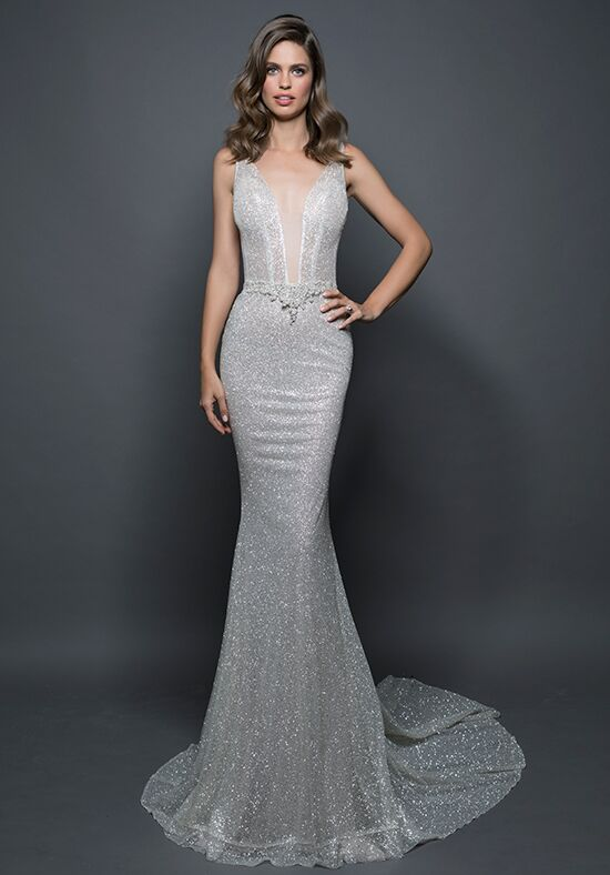 LOVE by Pnina Tornai for Kleinfeld 14584 Sheath Wedding Dress