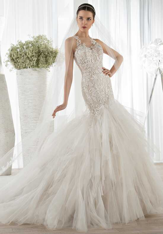Demetrios 628 Mermaid Wedding Dress