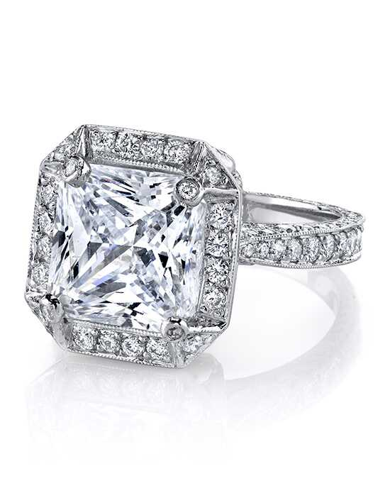 Erica Courtney Gorgeous & Engaged Glamorous Radiant Cut Engagement Ring
