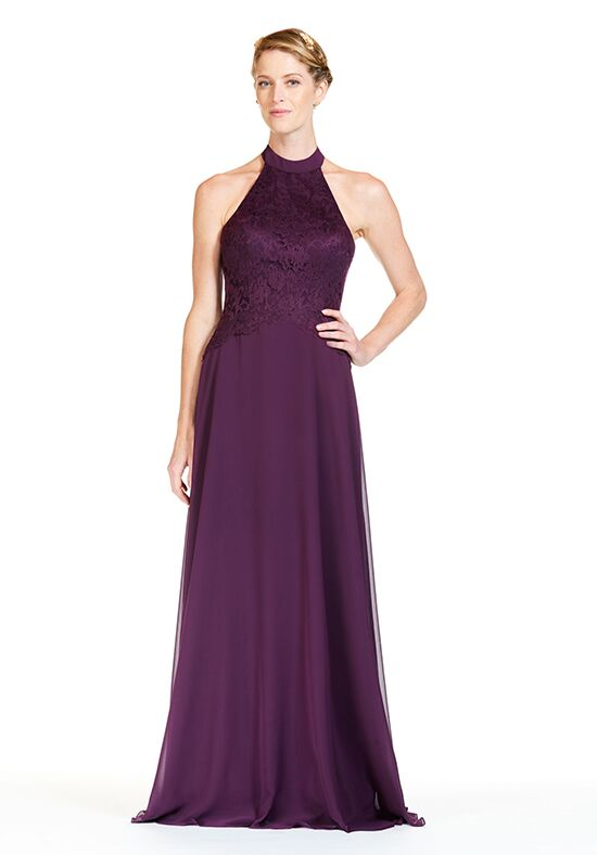 Bari Jay Bridesmaids 1820 Halter Bridesmaid Dress