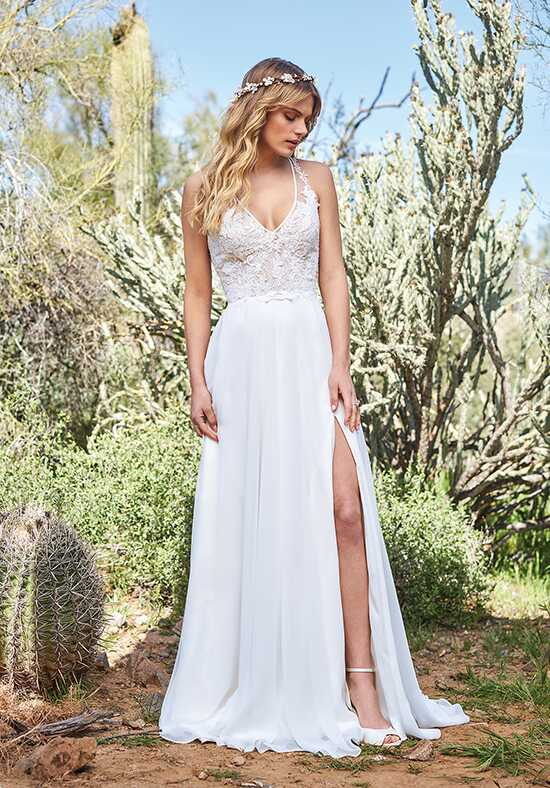 Lillian West 6515 A-Line Wedding Dress