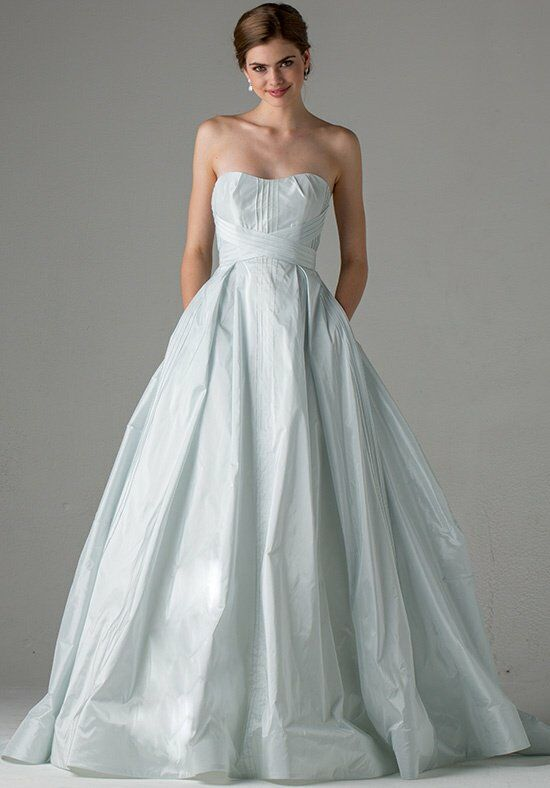 Blue Willow Bride by Anne Barge Hayden Ball Gown Wedding Dress