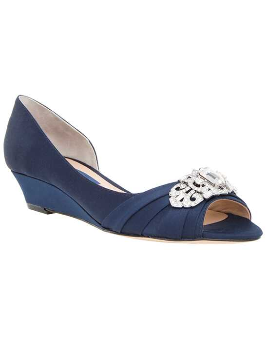 Nina Bridal Wedding Accessories Radha_Navy Blue Shoe
