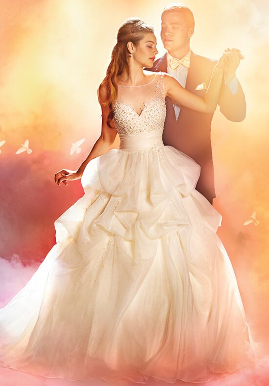 Alfred angelo disney fairy tale weddings bridal collection for Fairytale ball gown wedding dresses
