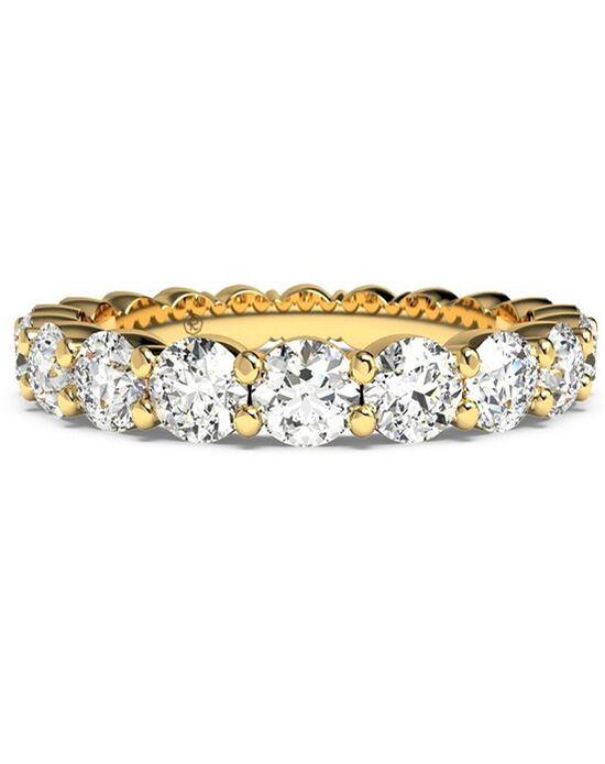 Ritani Women's Slim Round-Cut Diamond Prong-Set Eternity Band - in 18kt Yellow Gold - (1.90 CTW) Gold Wedding Ring