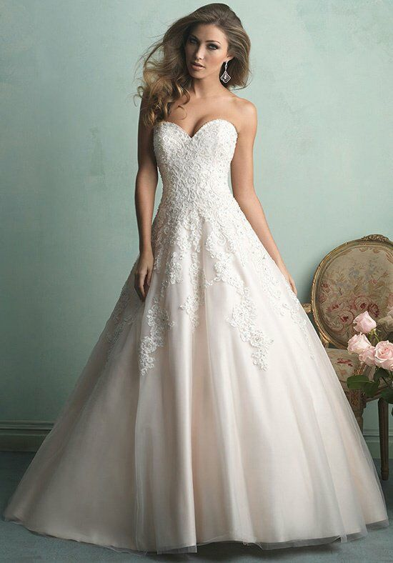 Allure wedding dress 9065