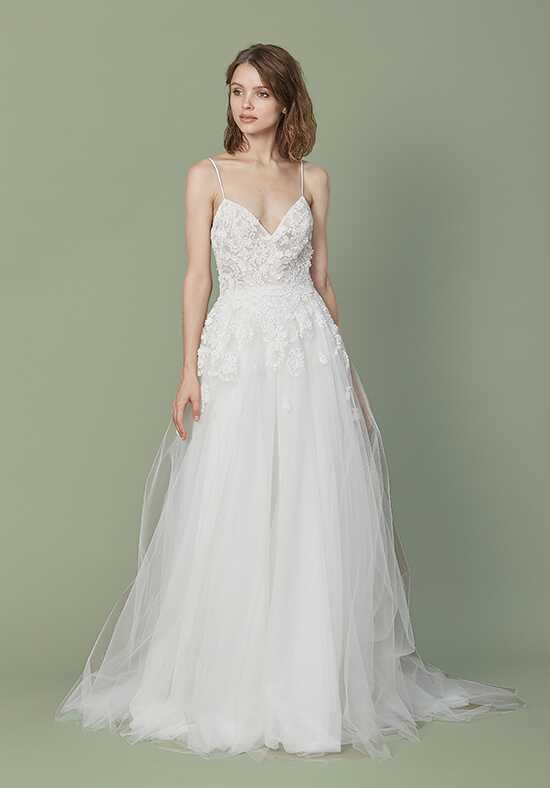Christos Elana Ball Gown Wedding Dress