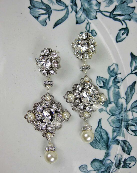 Everything Angelic Frida Earrings - e354 Wedding Earring photo