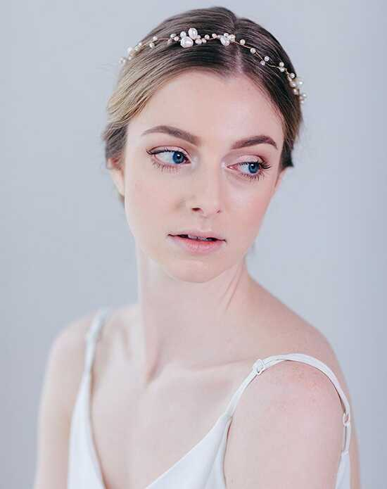 Davie & Chiyo | Hair Accessories & Veils Zosia Halo Gold, Ivory, Silver Headband