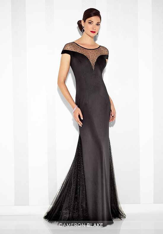 Cameron Blake 117623 Black Mother Of The Bride Dress