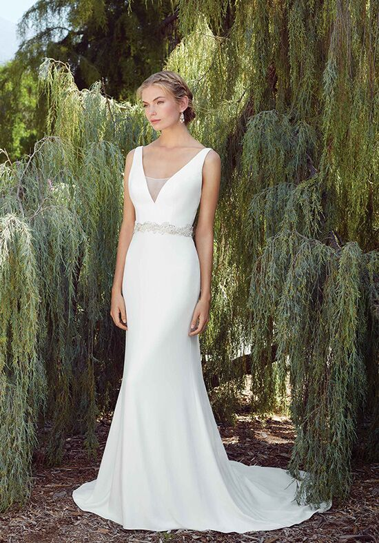 Casablanca Bridal Style 2268 Delphinium Sheath Wedding Dress