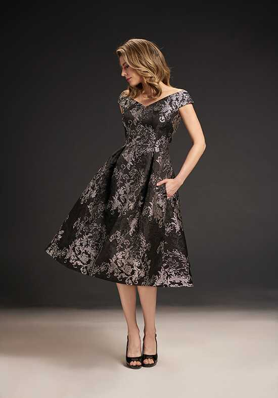 Jasmine Black Label M190065 Black Mother Of The Bride Dress