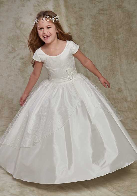 Cupids by Mary's F524 White Flower Girl Dress