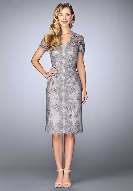 La Femme Evening 24931 Grey Mother Of The Bride Dress
