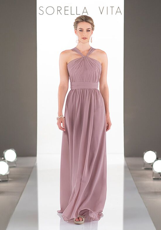 Sorella Vita 9050 Halter Bridesmaid Dress