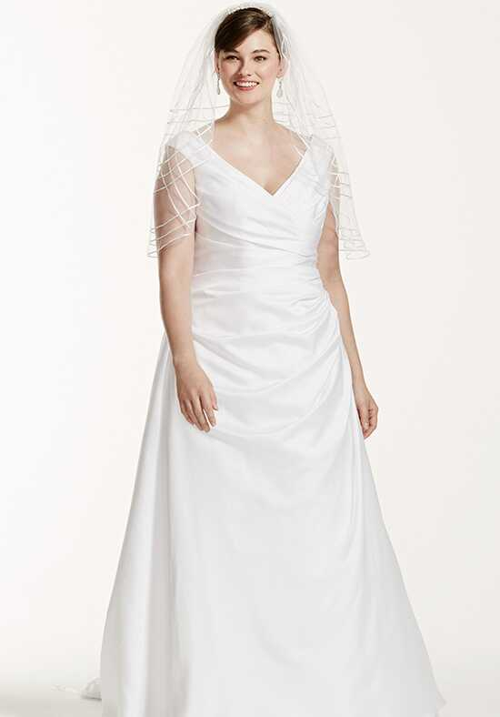 David's Bridal David's Bridal Woman Style 9T9861 A-Line Wedding Dress