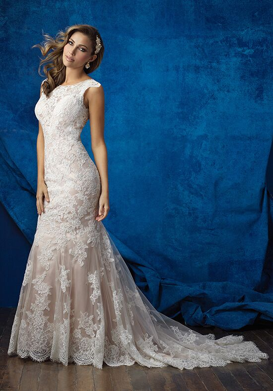 Allure Bridals 9352 Sheath Wedding Dress