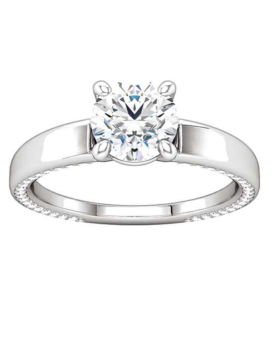 ever&ever Classic Princess, Asscher, Cushion, Emerald, Heart, Round Cut Engagement Ring