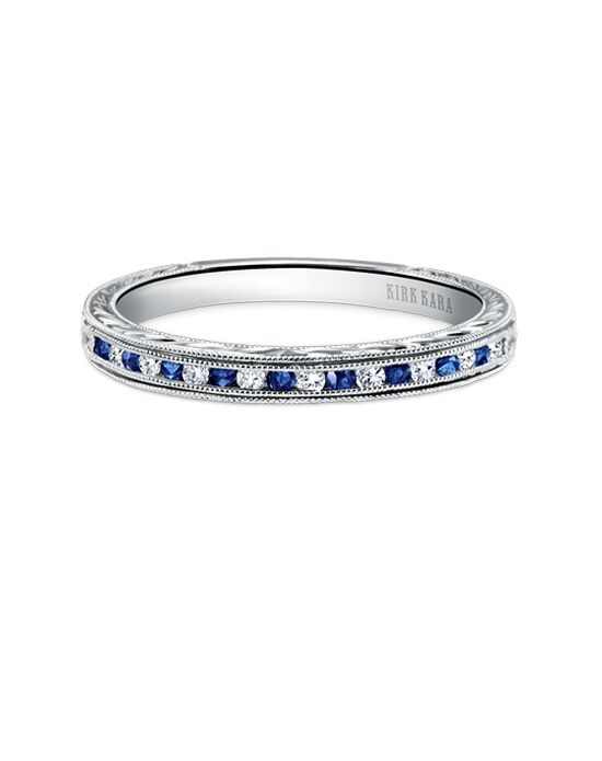 Kirk Kara K1140BD-B White Gold Wedding Ring