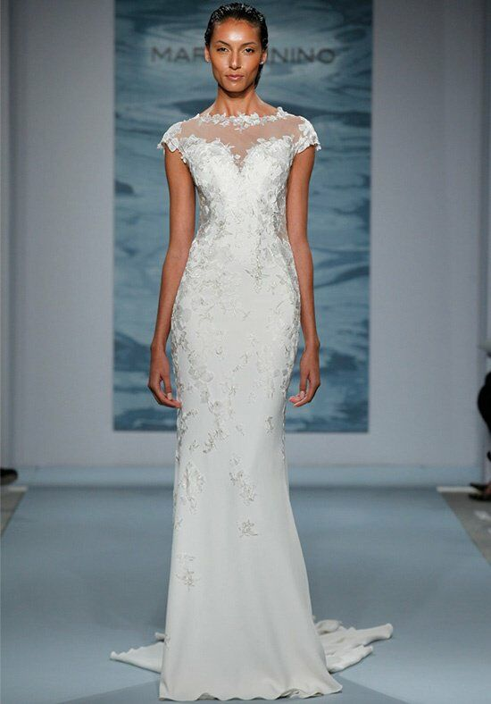 Mark zunino for kleinfeld 104 wedding dress the knot for How do you preserve a wedding dress