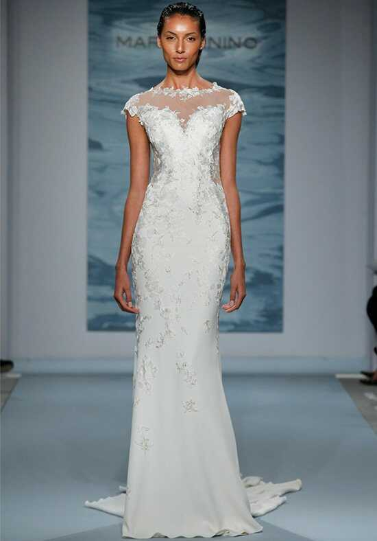 Mark Zunino for Kleinfeld 104 Sheath Wedding Dress