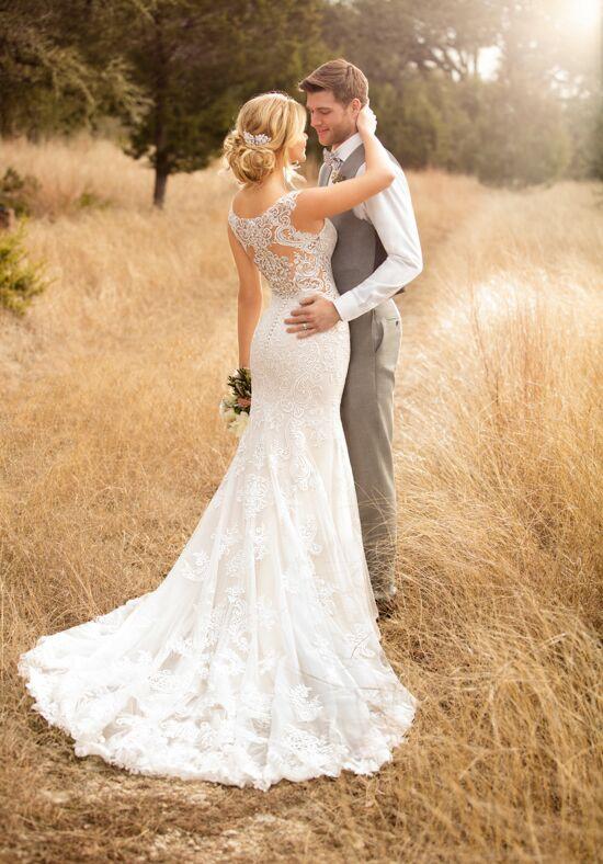 Essense Of Australia D2322 Sheath Wedding Dress