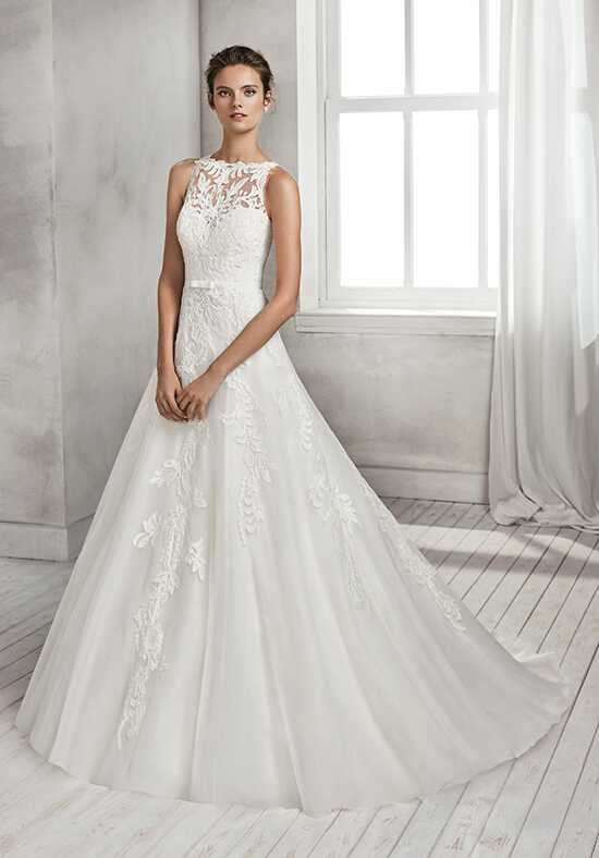 Luna Novias HELEN A-Line Wedding Dress