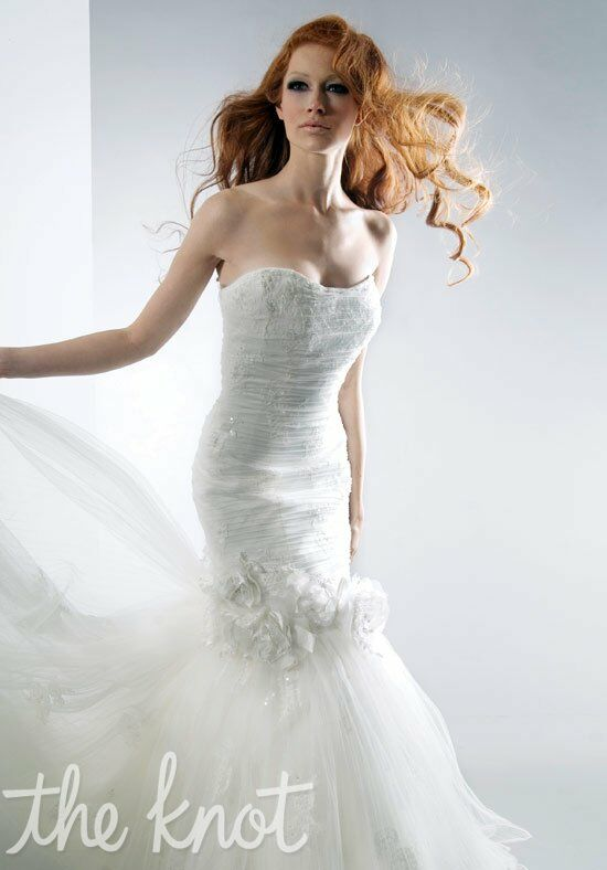 Alfred Sung Bridals 6844 Mermaid Wedding Dress