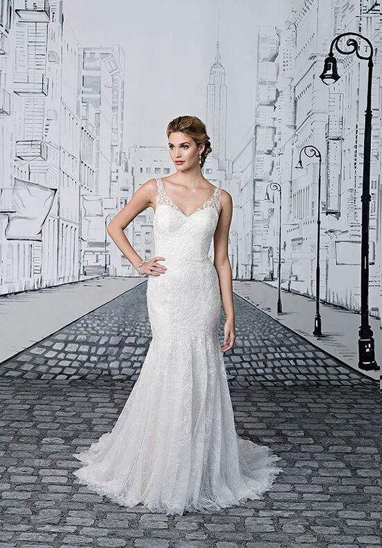 Justin Alexander 8890 A-Line Wedding Dress