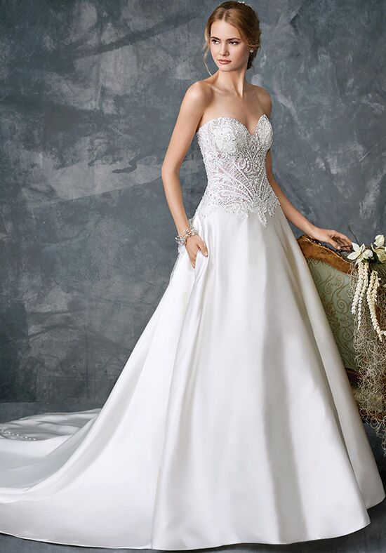 Kenneth Winston 1779 A-Line Wedding Dress
