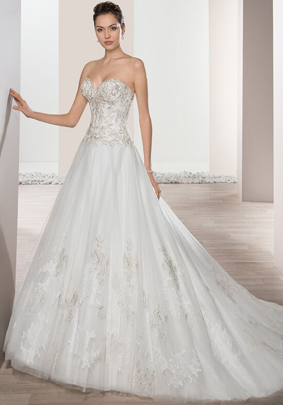Demetrios 659 A-Line Wedding Dress