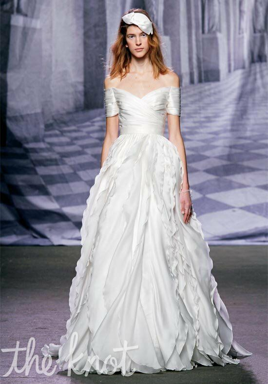 Monique Lhuillier Winter A-Line Wedding Dress