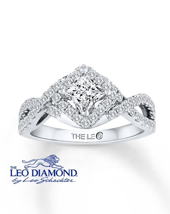 The Leo Diamond 991470319 Engagement Ring The Knot