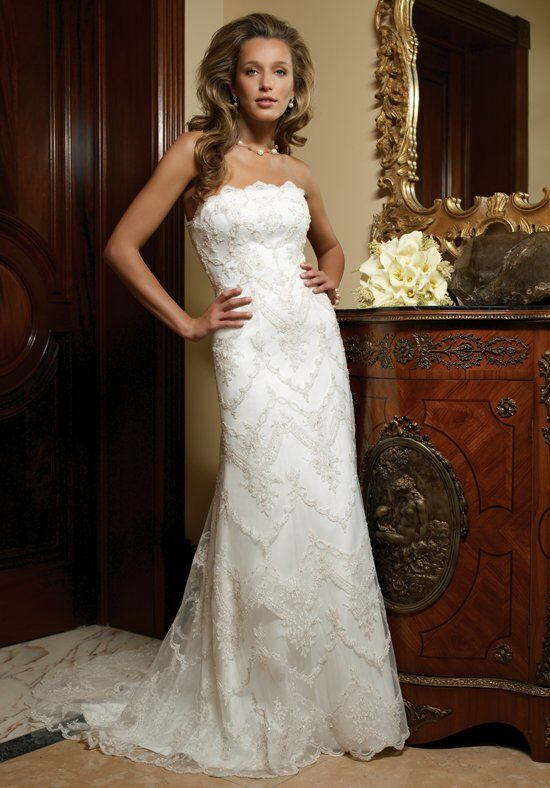 Casablanca Bridal 1847 Sheath Wedding Dress